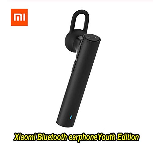 RONSHIN Headphones/Earphones/Earbuds for Xiaomi Bluetooth Youth Edition Earphone Headset Bluetooth 4.1 Earphone Build-in Mic Bluetooth Headset Black by RONSHIN