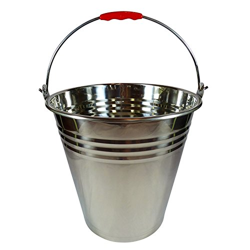 Large Stainless Steel Bucket Champagne