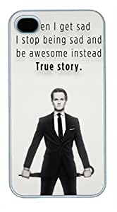 iPhone 4 4S Case, iCustomonline How I?Met Your Mother Back Case Cover for iPhone 4 4S