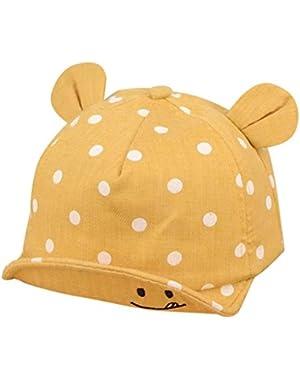 Baby Kids Cute Smiling Face Summer Sunhat Bongrace Hat Baseball Cap