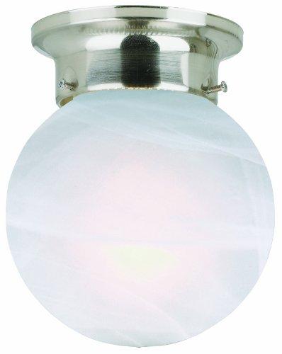 Design House 511592 Millbridge 1 Light Ceiling Light, Satin Nickel (Ceiling Light Light Satin)