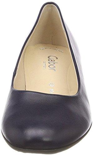 Gabor Damen Comfort Fashion Pumps Blau (mezzanotte)