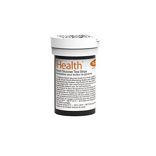 Bandes iHealth Ags-1000i de test glycémique