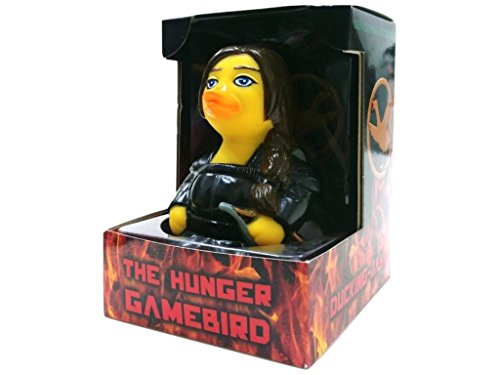 CelebriDucks The Hunger Gamebirds Quackniss Rubber Duck Bath Toy ()