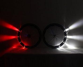 Luces para las llantas de bicicletas, de Shimano Revolights City Fixed: Amazon.es: Deportes y aire libre