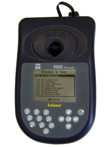 9500 Lcd - YSI 9500 Economical Photometer with Hard Sided Carrying Case and USB Cable, 10-51/64