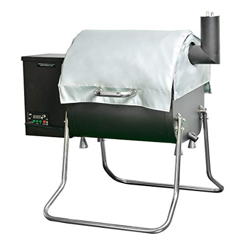 Stanbroil BBQ Grill Thermal Insulation Blanket for Green Mountain Davy Crockett Grills