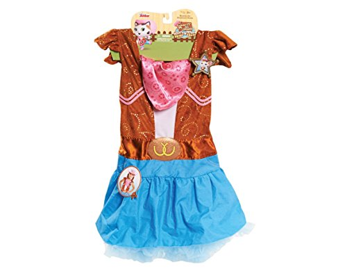 [Sheriff Callie Dress up Set, 4-6x Size] (Benny And Smalls Costume)