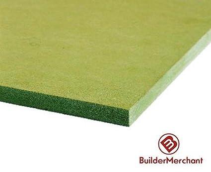 MDF Moisture Resistant 25mm - Medium Density Fibreboard 2ft x 2ft (610mm x 610mm) www.buildermerchant.com Moisture Resistant MDF 610x300mm x 2x2