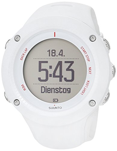 Suunto Ambit3 Run HR Monitor Running GPS Unit, White