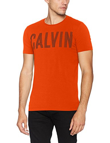 Cn Tee Slimfit Klein Calvin Red Rouge Manche Sans Tyrus rebel Pull Homme BwItBTdq