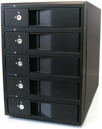 Mobius ™ 5-Bay FireWire 800, eSATA, USB 3.0 RAID Caja para disco duro: Amazon.es: Oficina y papelería