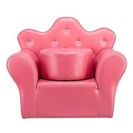 Amazon.com: Sofá para niños, estilo princesa, sillón para ...
