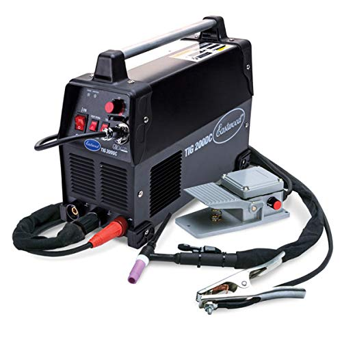 Eastwood Tig 200 Amp Dc Welder 110/240V Nema 6-50R Plug Stainless Normal Steel Weld