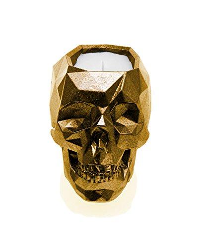 Candellana Candles Candlefort Candles Concrete Skull, Orient Vanilla, Scent: Orient Vanilla 5902841367845