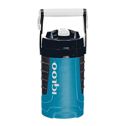 Igloo Proformance 1/2 Gallon Sport Jug with Freeze Stick-Ash Gray/Teal, Gray
