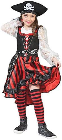 Das Kostümland Pirate Peppina Disfraz de Pirata para niños - Gran ...