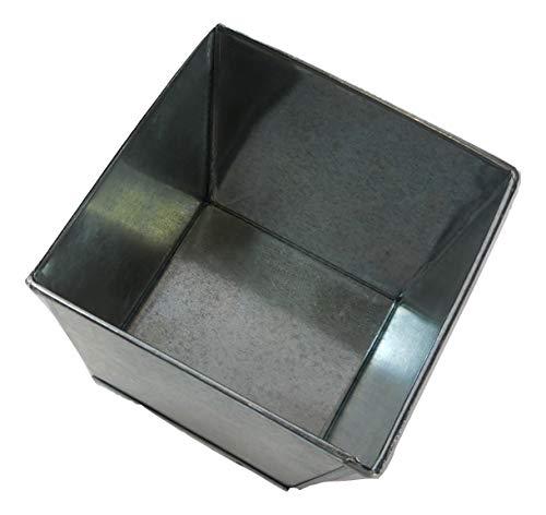 3 pc.set Square Galvanized Pot Bucket 4