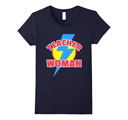 Womens Teacher Woman - Teacher Halloween Tshirt XL (Super Teacher Halloween Costume)