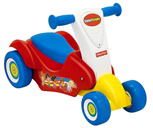 Fisher-Price Little People Ride 2 Scoot 2-in-1 Ride On