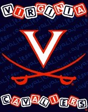NCAA Virginia Cavaliers 36-Inch-by-46-Inch Woven Jacquard Baby Throw (Blanket Throw Woven Jacquard Baby)