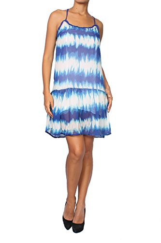 Pepe Jeans Women's Dress Poly - Blue, M (Jeans Dresses Pepe)