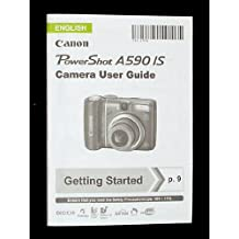 Canon PowerShot A590 IS Digital Camera User Guide - Original Instruction Manual