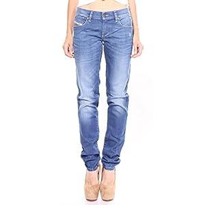 Diesel Women's Getlegg 0R610 Slim-Skinny Low Waist Jeans 98% Cotton 2% Elastane