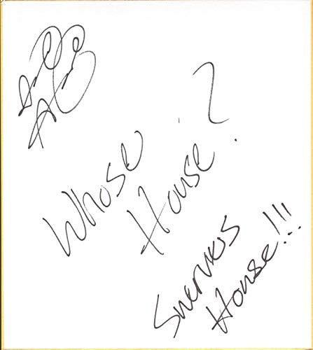 Shane Strickland Signed Shikishi Art Board BAS Beckett COA Pro Wrestling WWE NXT - Beckett Authentication (Signed Strickland)