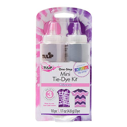 Tulip One-Step Tie Dye Kit, Mini, Princess, 2-Pack