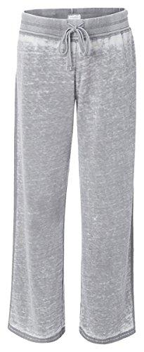 (J. America - Ladies' Zen Fleece Sweatpant - Cement ss8914)