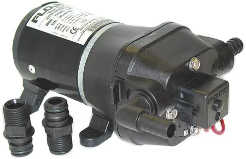 Flojet 04305500A Quad Dc Water System Pump 35Psi//3.3Gpm//12V