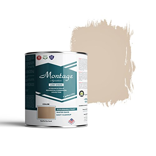Montage Signature Interior/Exterior Eco-Friendly Paint, Suede - Low Sheen, 1 Gallon