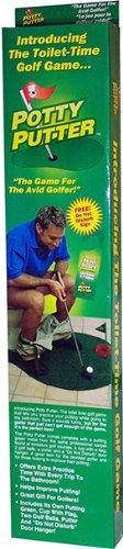 Potty Rock (Potty Putter Toilet Golf Game)