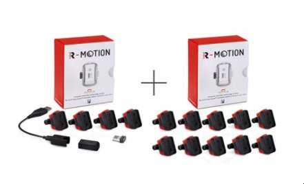 Rapsodo R-Motion and The Golf Club Simulator and Swing Analyzer - Combo package including R-Motion + 14 Club Attachments by Rapsodo