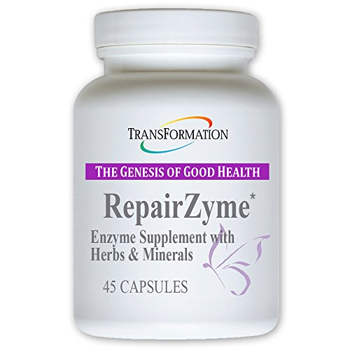 RepairZyme - #1 Practitioner Recommended -Nutritional Building Blocks to Repair Cells, Tissues, Muscles, Nutrient Support for Healthy Skin,- Maximize Digestion of Nutrients, (45)