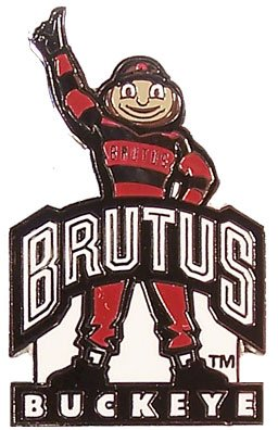 (Ohio State Mascot Brutus Buckeye)