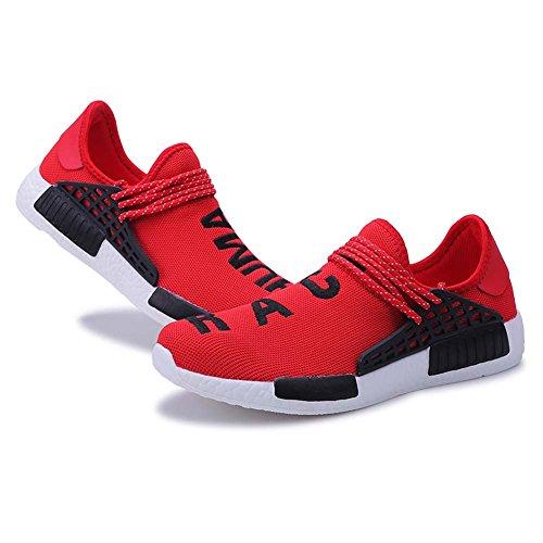 Course Baskets Et Femmes Marche Athltique Lger Maillot Casual Pour Sport Respirantes En De Chaussures Rouge Mode Gym Mengxx Air Entraneurs lastiques Plein Hommes xtCgqAwtI
