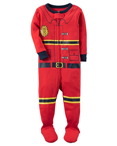 Carter's Baby Boys' 18M-24M One Piece Firefighter Snug
