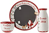 Child to Cherish Santa's Message Plate Set, Santa