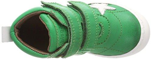 Bisgaard Klettschuhe, Zapatillas Altas Unisex Niños Grün (Green)