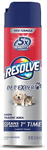 Resolve Pet Expert High Traffic, Carpet Foam, 22 ()