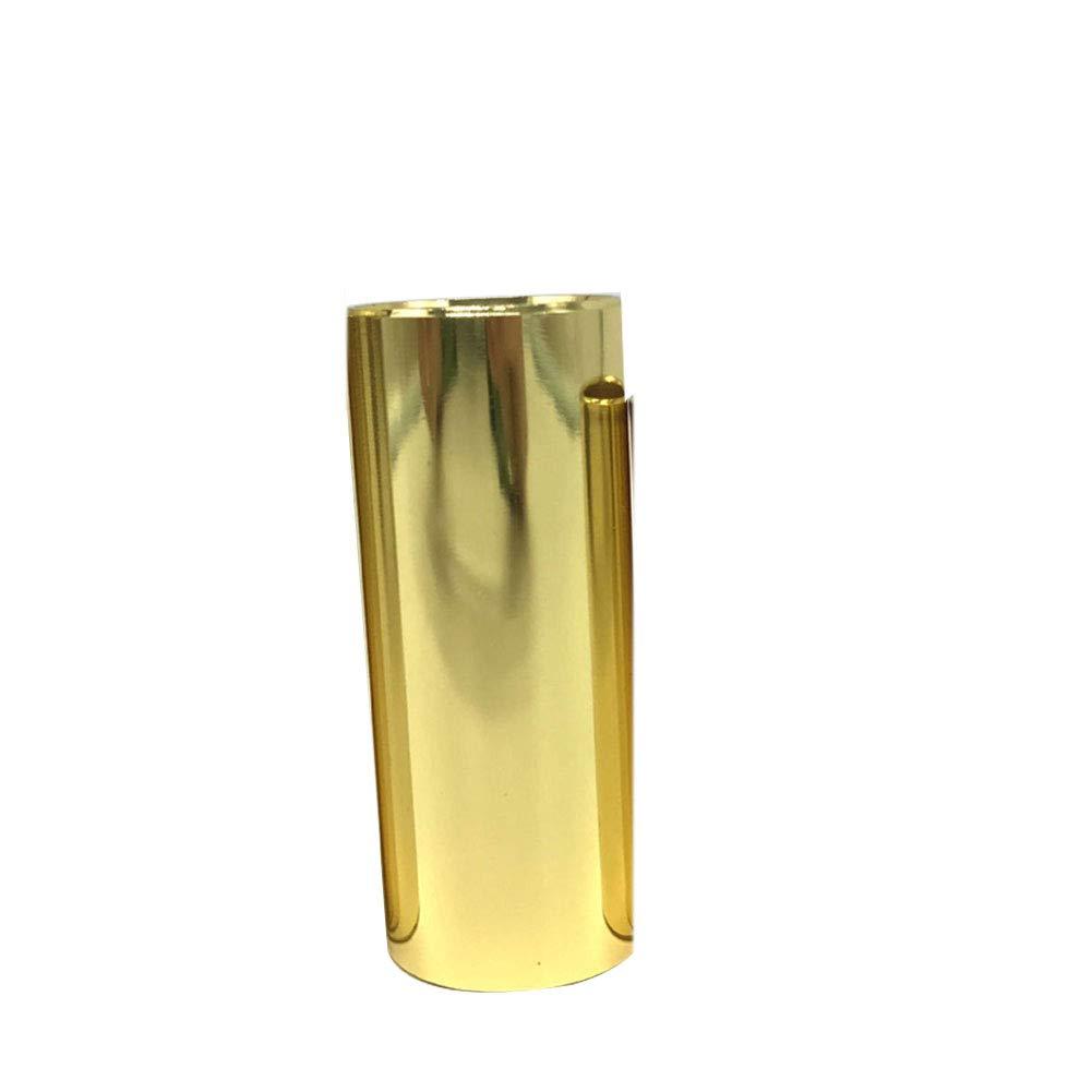 heaven2017 Stainless Steel Guitar String Slide Tube - Golden 51mm