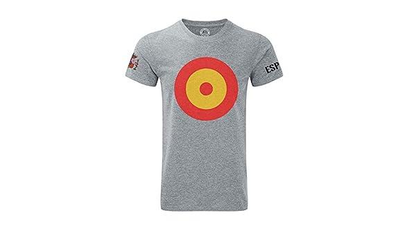 Imperio - Camiseta Escarapela España con Escudo (M): Amazon.es ...