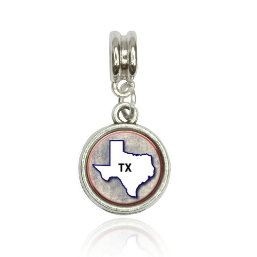 Texas TX State Outline On...