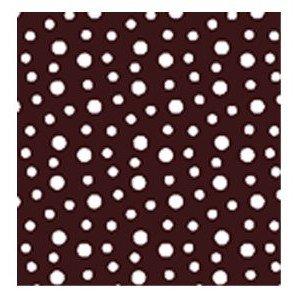 American Chocolate Designs Chocolate Transfer Sheet Dots White