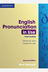 English Pronunciation in Use Intermediate with Answers, Audio CDs (4) and CD-ROM Paperback