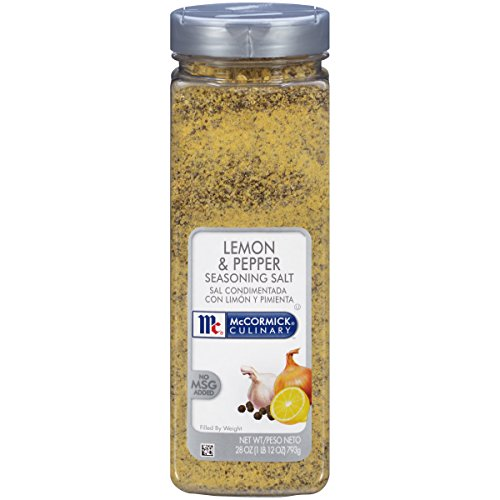 McCormick Culinary Lemon & Pepper Seasoning Salt, 28 (Mccormick Lemon Pepper)