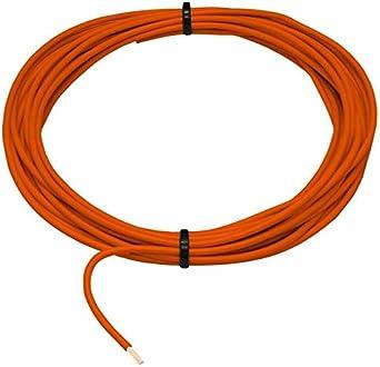 10m Flry Fahrzeugleitung Orange 1 5mm Rund Kabel Litze Kfz Stromkabel Beleuchtung