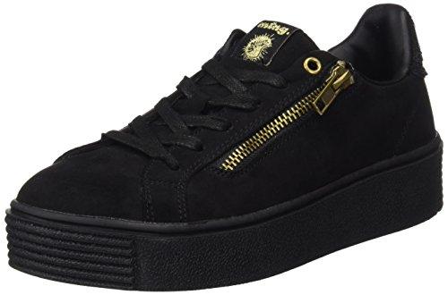 MTNG Templo, Sneakers Basses Femme Noir (Softy Negro / Horse Negro)